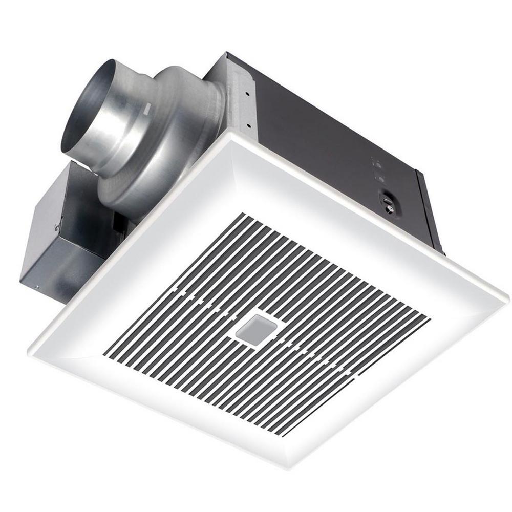 panasonic whispersense 110 cfm ceiling humidity and motion sensing