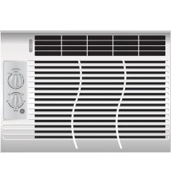 ge 5 000 btu 115 volt room window air conditioner [ 1000 x 1000 Pixel ]