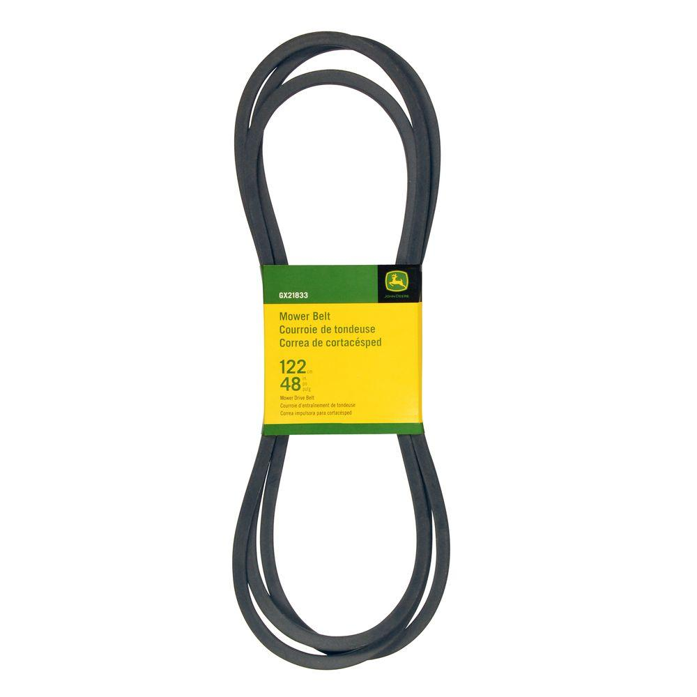 medium resolution of john deere 48 in deck drive belt