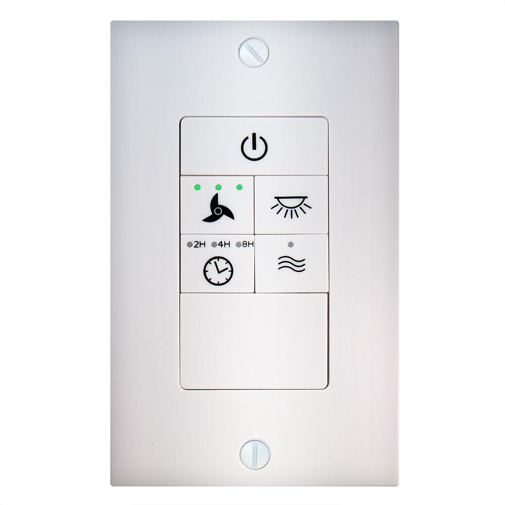 hight resolution of hampton bay universal ceiling fan wireless wall switch 68109 the home depot