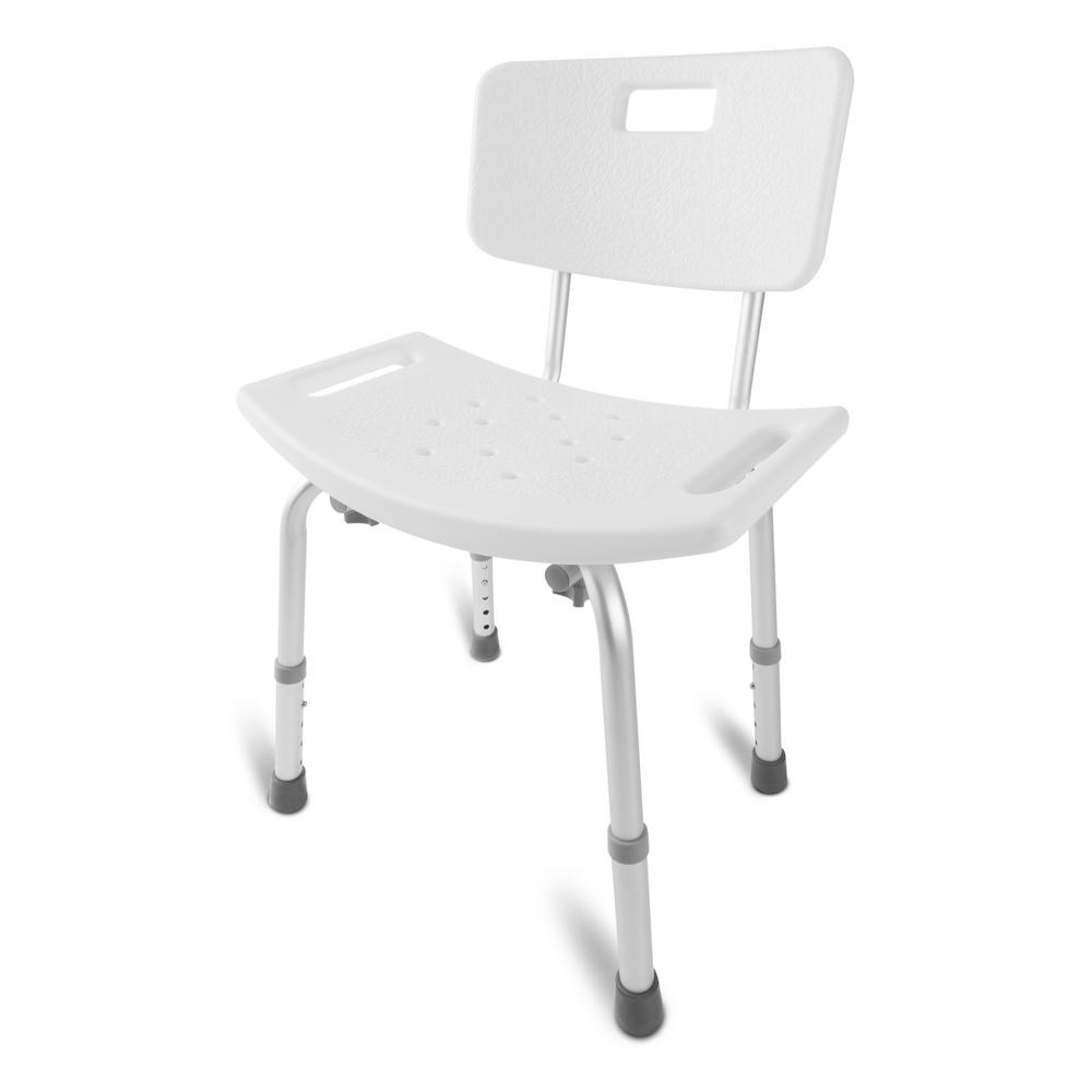 rubbermaid shower chair replacement parts cool modern chairs stools accessories the home depot medical heavy duty spa bathtub tool free assembly adjustable height