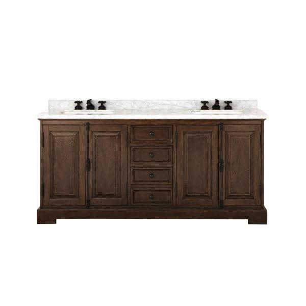 Home Decorators Collection Clinton 72 In. Double Vanity
