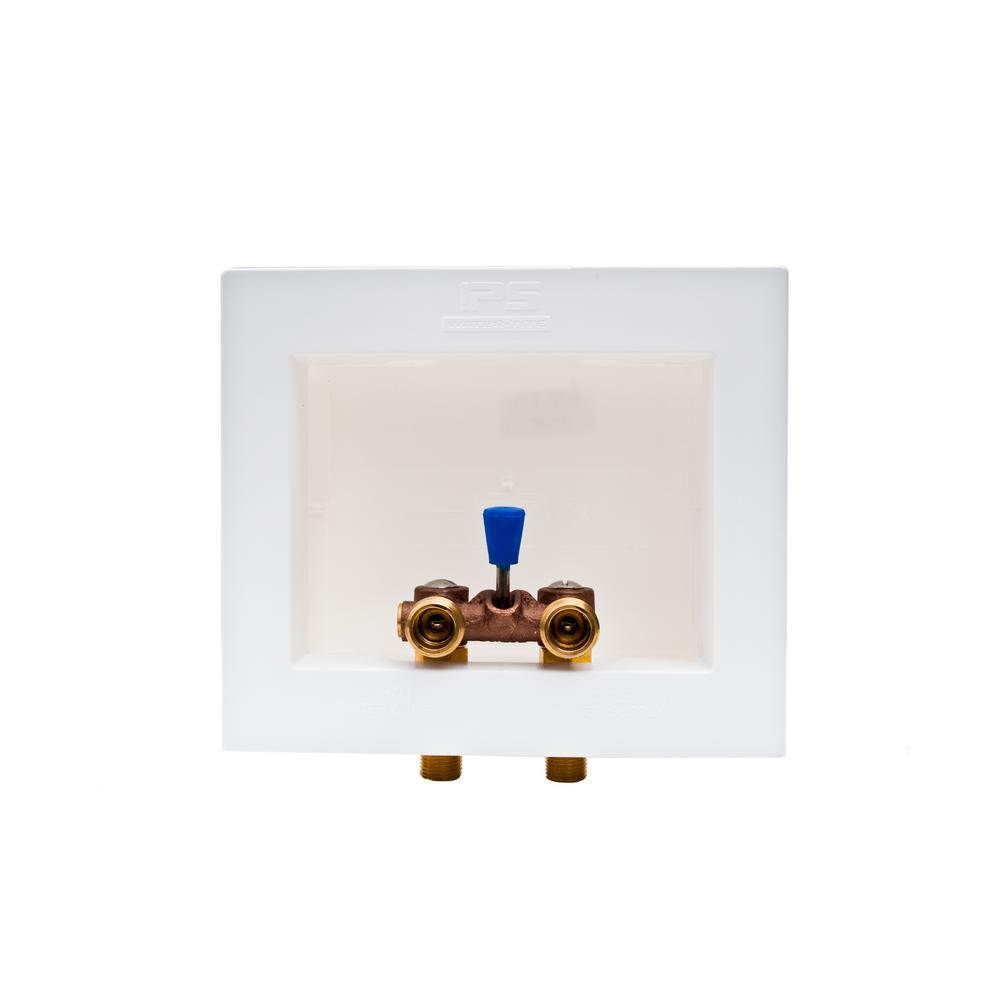 WaterTite DUAll 12 in Brass DualDrain Washing Machine