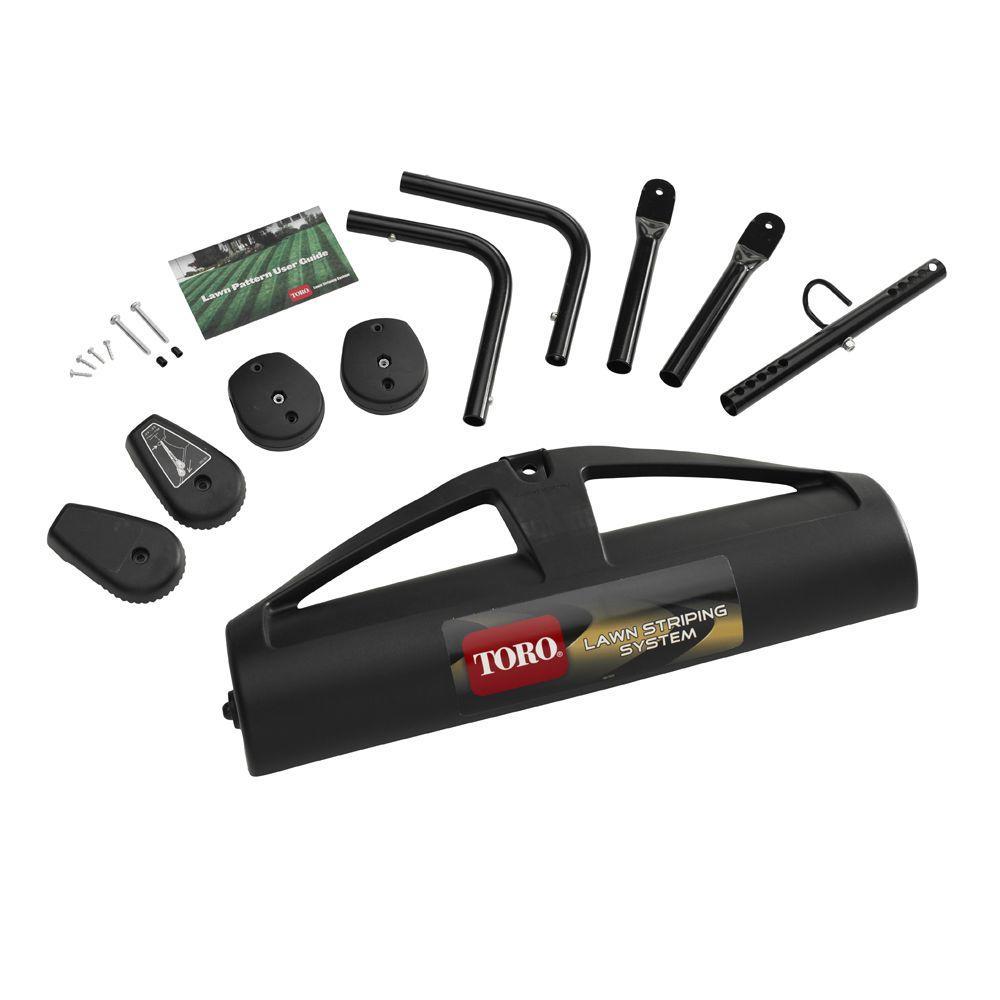 medium resolution of toro striping kit for walk behind mowers