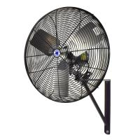 Schaefer 24 in. Black Oscillating Wall Mounted Fan-TW24B ...