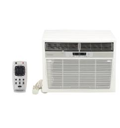 frigidaire 18 500 btu window air conditioner with heat and remote [ 1000 x 1000 Pixel ]