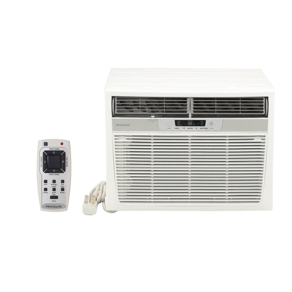 hight resolution of frigidaire 18 500 btu window air conditioner with heat and remote