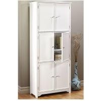 Home Decorators Collection Oxford White Storage Cabinet ...