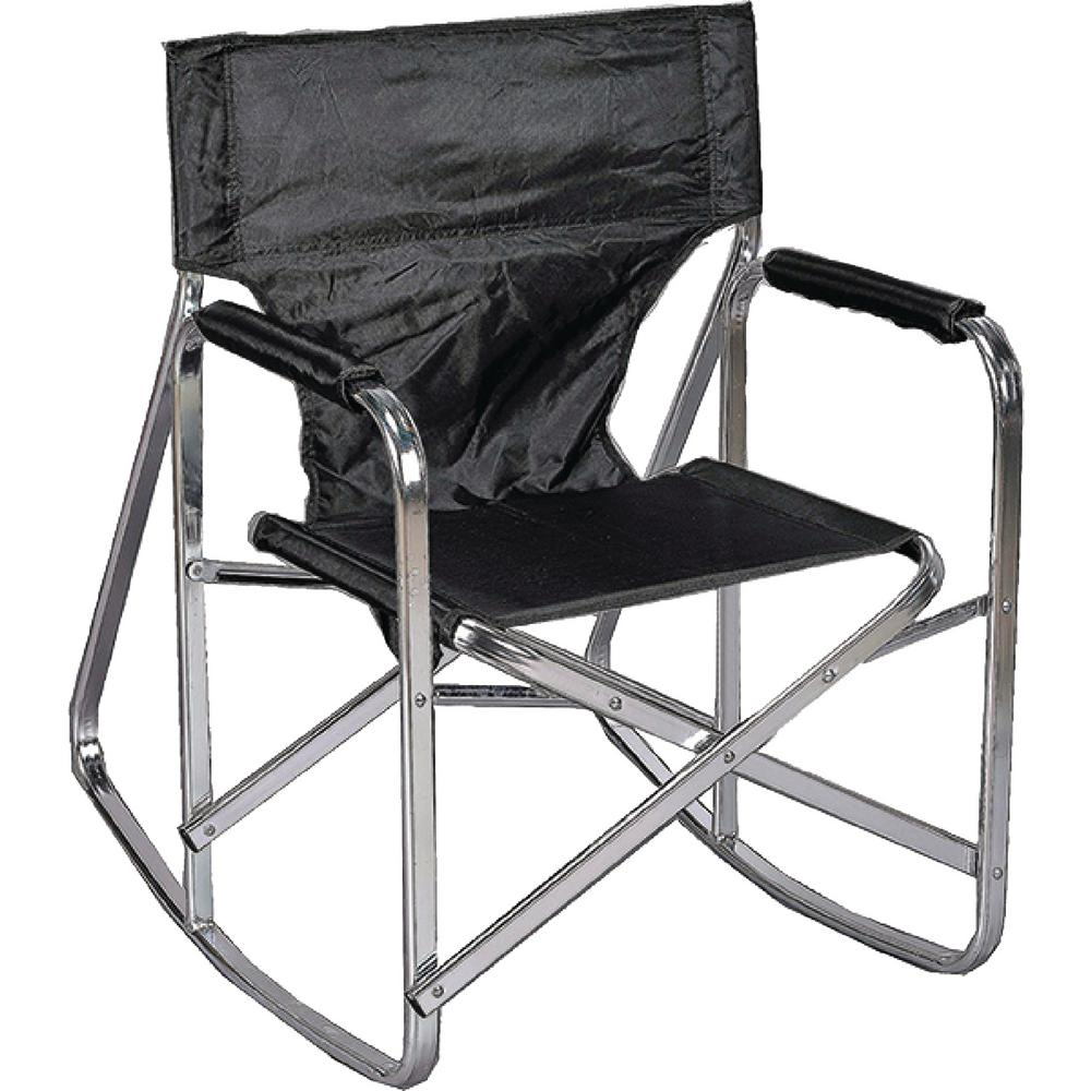 Black Directors Chair Ming S Mark Stylish Camping Black Full Back Folding Rocking Director S Chair