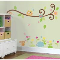 RoomMates Happi Scroll Branch Peel and Stick Wall Decal ...