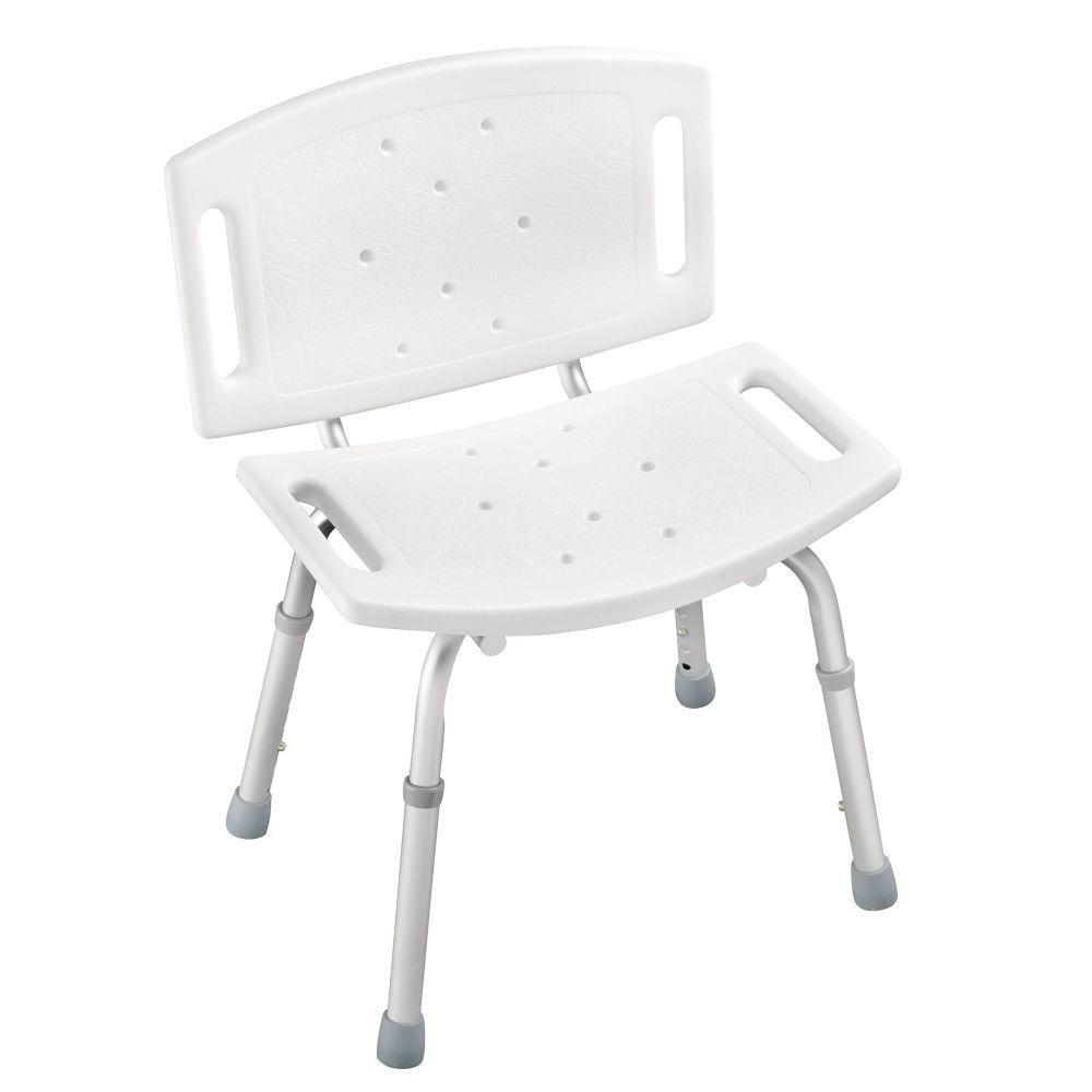 Bath Chair Lift Adjustable Tub And Shower Chair In White