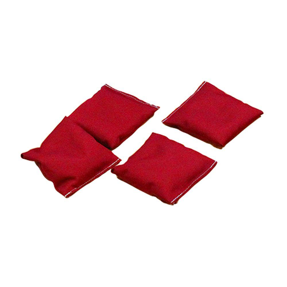 Gronomics Red Bean Bags Set of 4BBRED4  The Home Depot