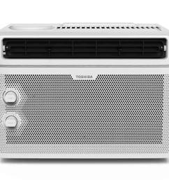 toshiba 5 000 btu 115 volt window air conditioner [ 1000 x 1000 Pixel ]