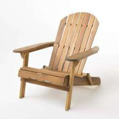 Unfinished Adirondack Chair Posture Uk Wood Chairs Patio The Home Depot Hanlee Natural Stained Folding