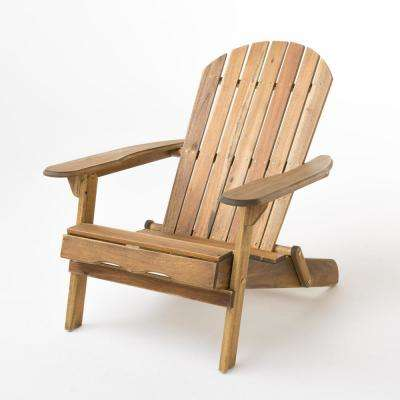 folding chair parts manufacturer rent tables and chairs adirondack patio the home depot hanlee natural stained