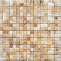Honey Onyx Polished Mosaic
