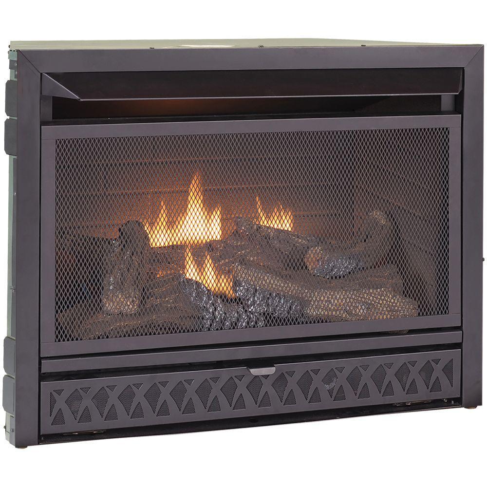 ProCom Gas Fireplace Insert Duel Fuel Technology  26,000
