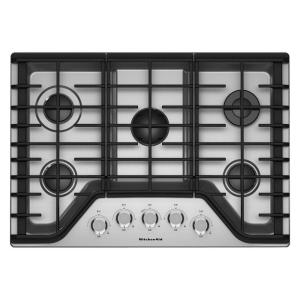 kitchen aid gas cooktop bath design kitchenaid 36 in stainless steel with 5 burners including a multi flame