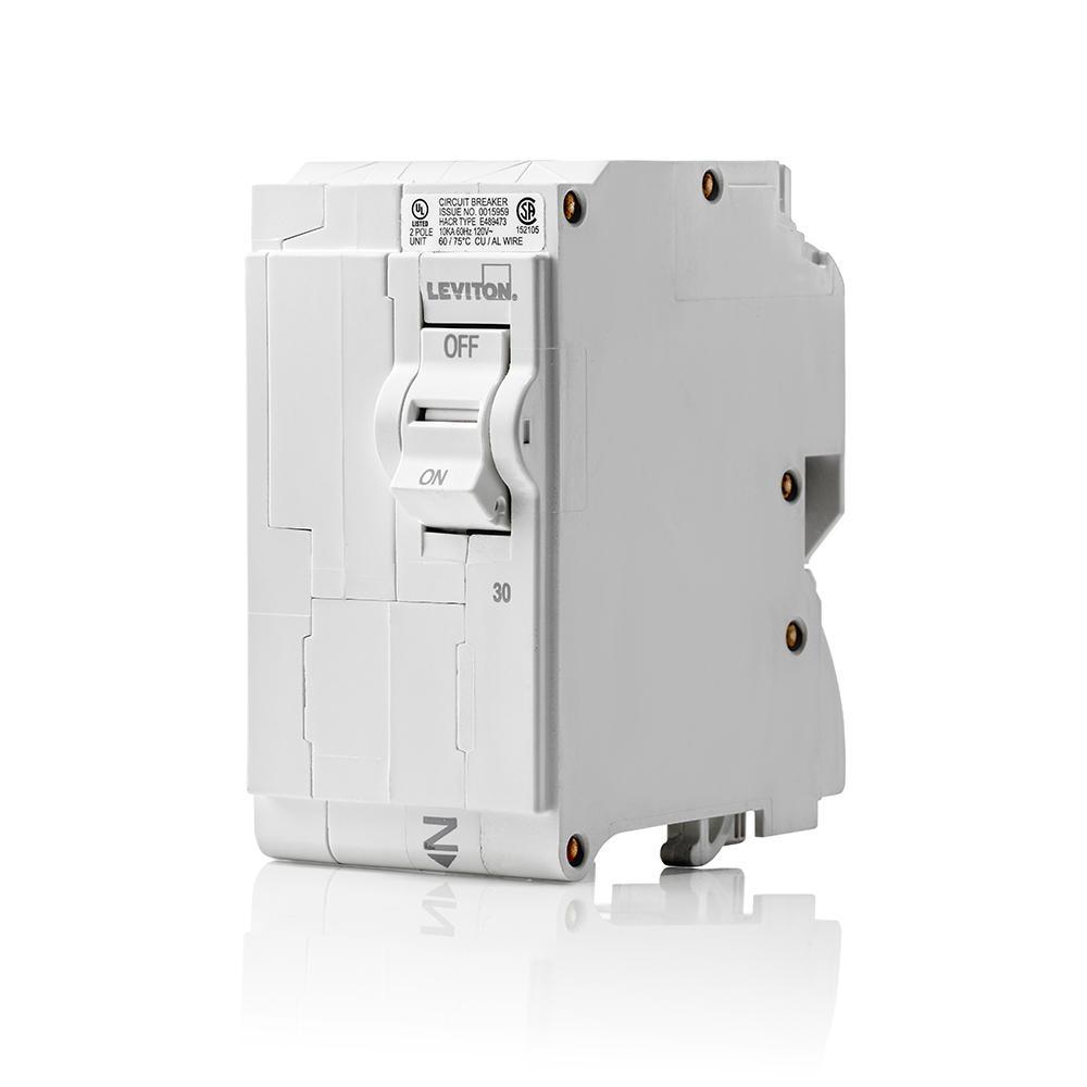 medium resolution of 30 amp 2 pole 120 240vac plug on standard branch circuit breaker