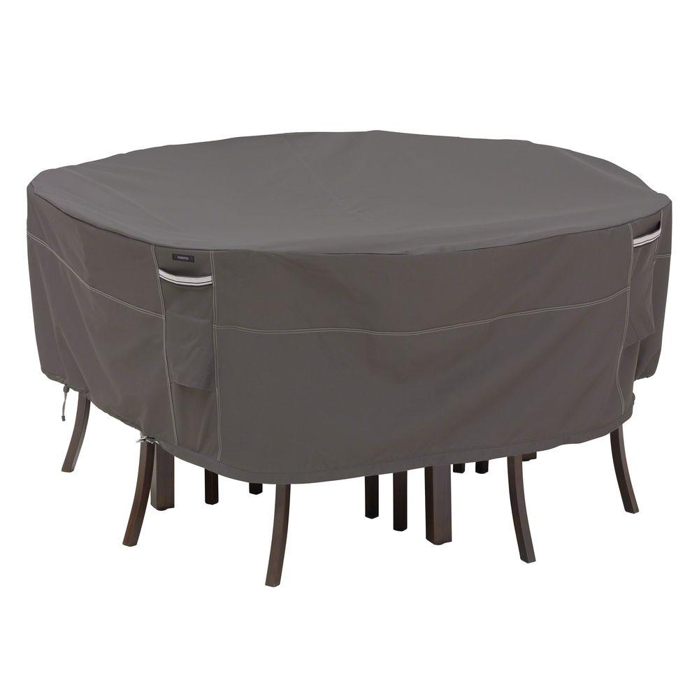 chair covers for garden furniture patio lounge cushions canadian tire classic accessories ravenna large round table and set cover 55 158 045101 ec the home depot