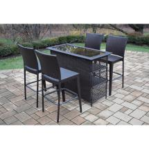 Patio Bar Sets - Outdoor Furniture Home Depot