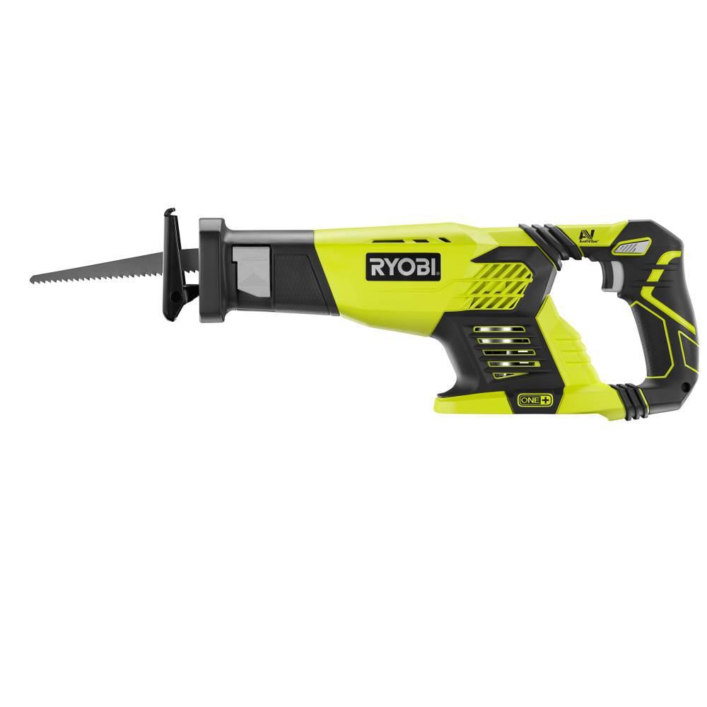 medium resolution of ryobi 18 volt one cordless reciprocating saw tool only