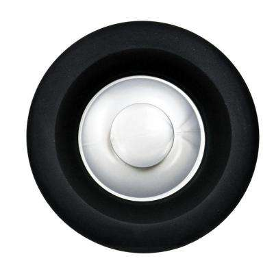kitchen sink plug hole fitting white drop in covers parts repair the home depot garbage disposal stopper