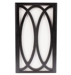 hampton bay wireless or wired door bell in black frame with white insert [ 1000 x 1000 Pixel ]