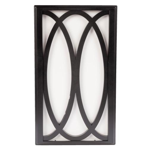 small resolution of hampton bay wireless or wired door bell in black frame with white insert