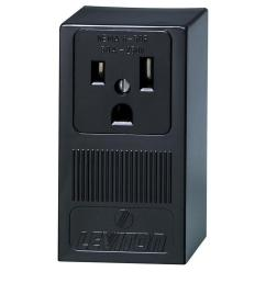 leviton 50 amp double pole single outlet black [ 1000 x 1000 Pixel ]