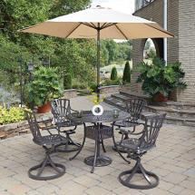 Home Styles Largo 5-piece Patio Dining Set-5561-3056