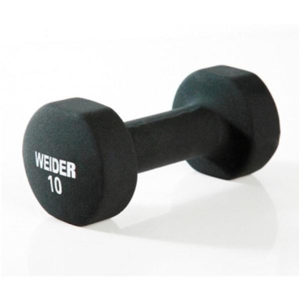 Weider 10 Lb. Neoprene Dumbbell-ndbt10- - Home Depot