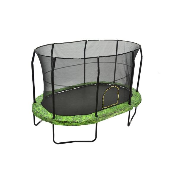 Jumpking 9 Ft. 14 Fern Trampoline Enclosure Combo-jk914fn - Home Depot