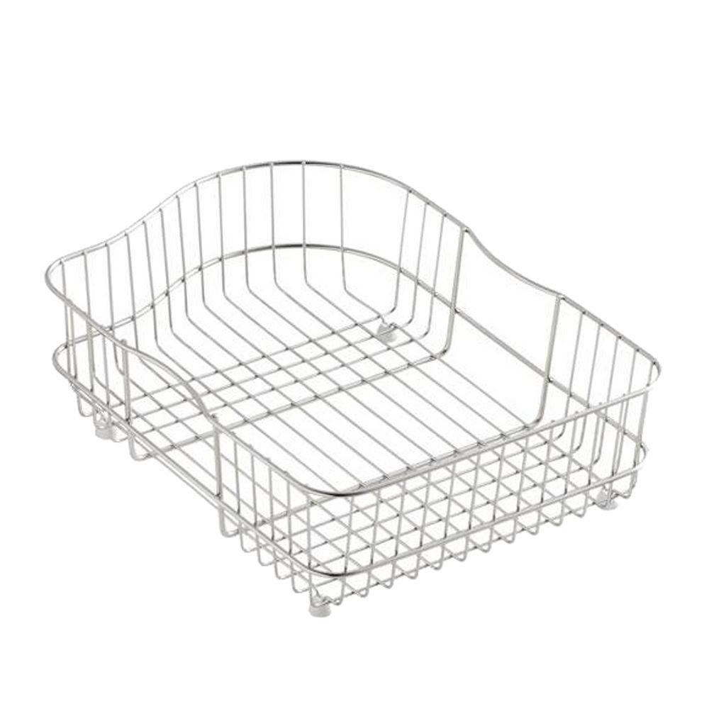 KOHLER Hartland Wire Rinse Basket for Right-Hand Basin
