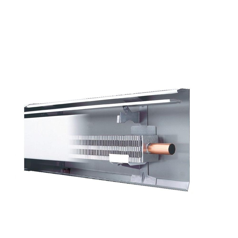 hight resolution of fully assembled enclosure and element hydronic baseboard