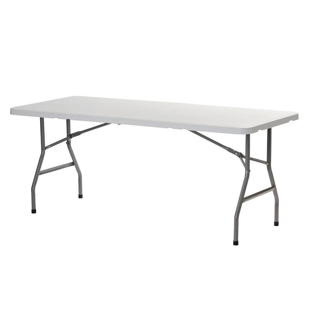 Sandusky White Folding TableFPT7230  The Home Depot