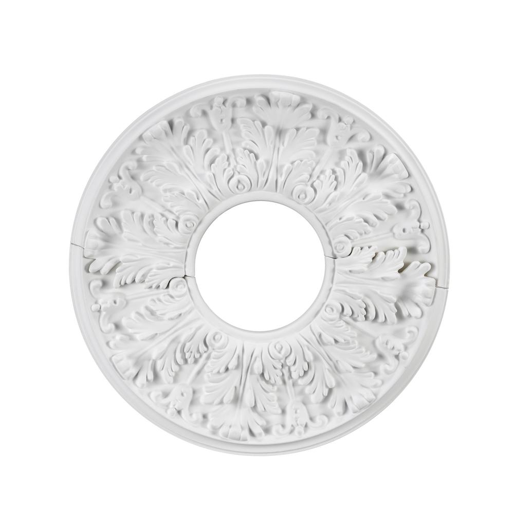 Westinghouse Saturn 12 in. White Ceiling Medallion