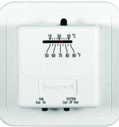 economy heat cool manual thermostat [ 1000 x 1000 Pixel ]
