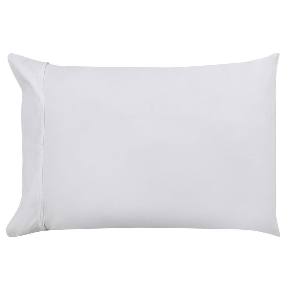 A1 Home Collections 20 in x 26 in White Organic Cotton
