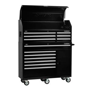 Husky 52 in 13Drawer Tool Chest and Cabinet Combo in