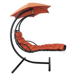 Chair With Shade Canopy Vanity Back And Arms Blue Wave Island Retreat Hanging Terra Cotta Patio Lounge