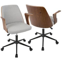 Contemporary Desk Chairs Rocking Chair Floor Pads Swivel Mid Century Modern Office Home Furniture Verdana