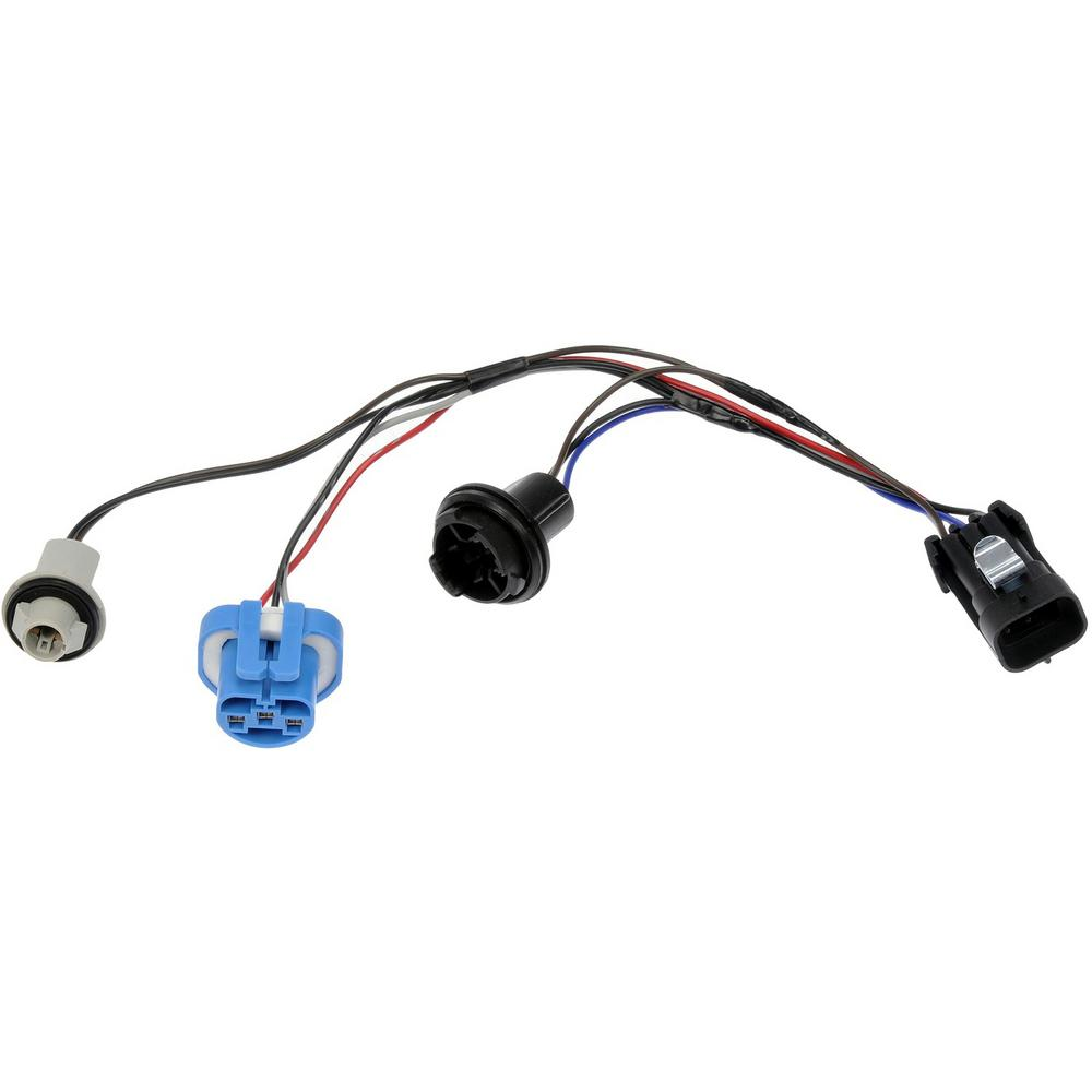 hight resolution of wiring harness with bulb sockets for left or right headlamp assembly