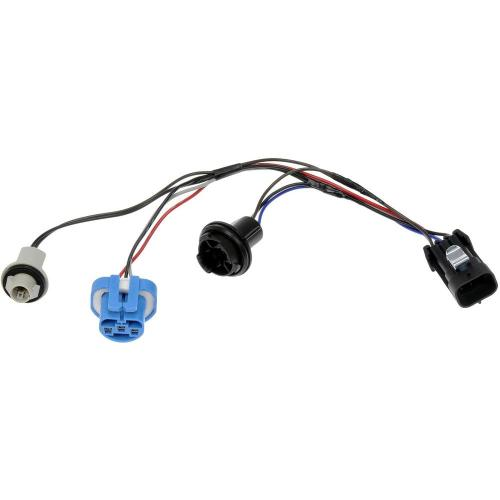 small resolution of wiring harness with bulb sockets for left or right headlamp assembly