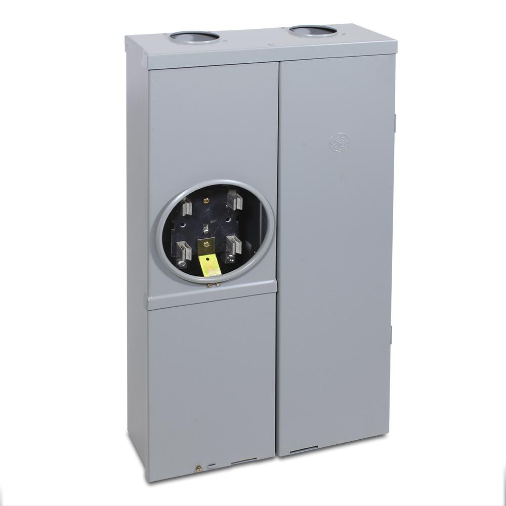 hight resolution of ge 100 amp 16 space 32 circuit ring type meter socket load center 100 amp meter socket wiring