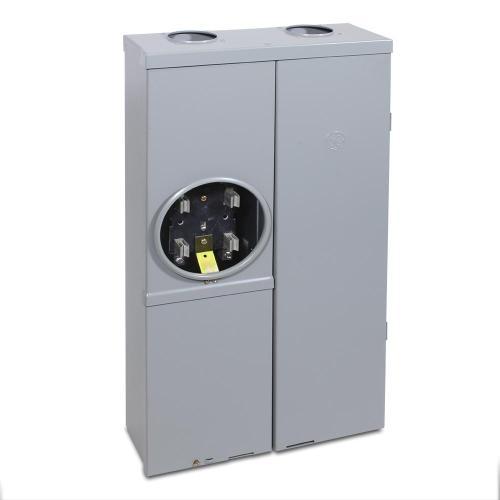 small resolution of ge 100 amp 16 space 32 circuit ring type meter socket load center 100 amp meter socket wiring