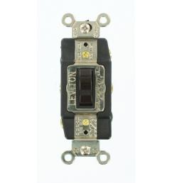 leviton 20 amp industrial grade heavy duty double pole double throw leviton single pole double throw switch wiring diagram [ 1000 x 1000 Pixel ]