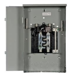 siemens pl series 200 amp 8 space 16 circuit main breaker outdoor 200 ge breaker panel diagram electrical sub panel breaker 50 rv plug [ 1000 x 1000 Pixel ]