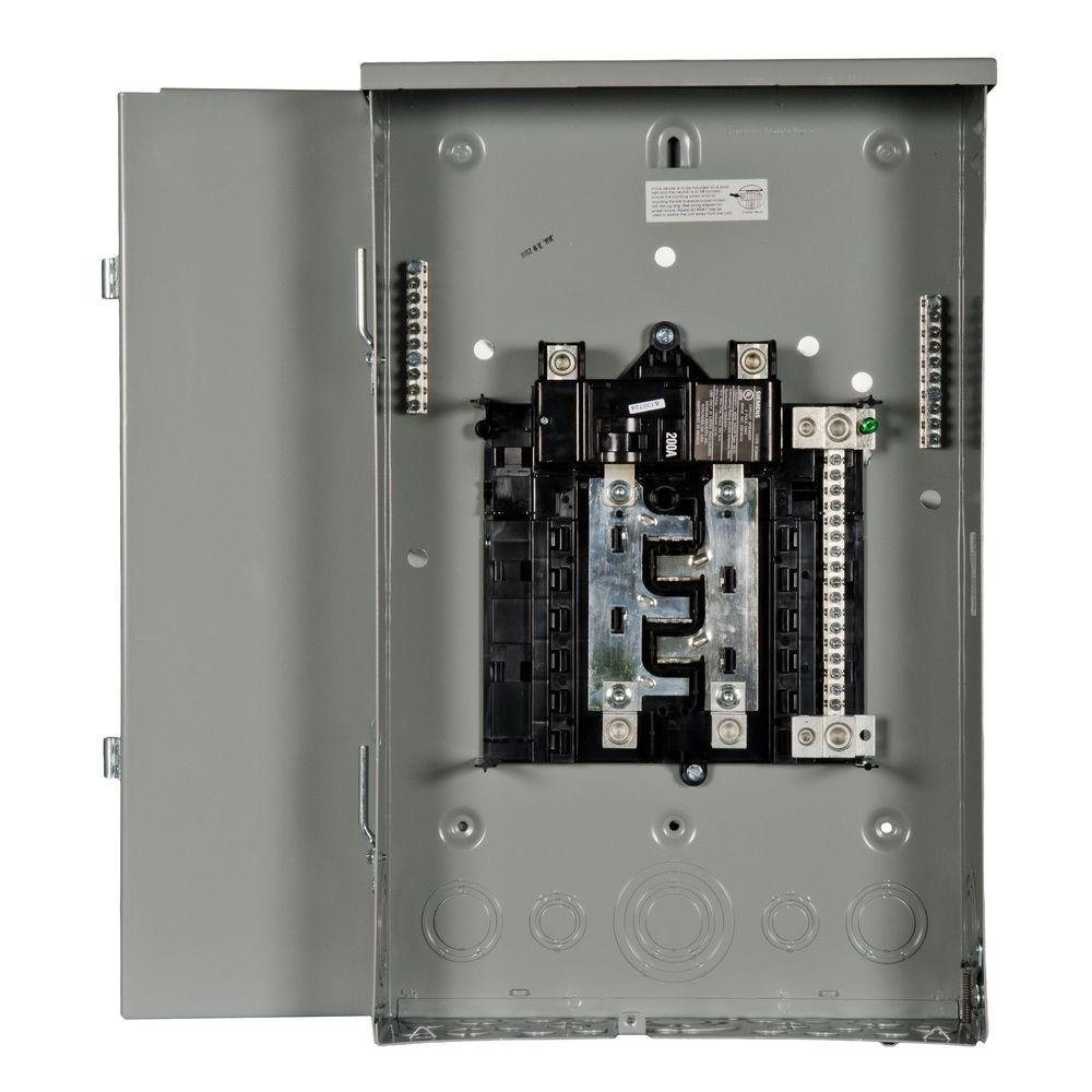medium resolution of siemens pl series 200 amp 8 space 16 circuit main breaker outdoor 200 ge breaker panel diagram electrical sub panel breaker 50 rv plug