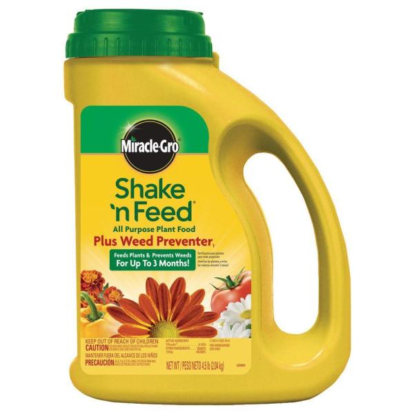 Miracle-gro Shake ' Feed 4.5 Lb. -purpose Plant Food